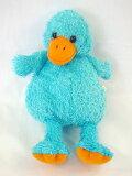 カラフルガチョウ BLUE サイズ:H20cm(座)(メール便NGです)