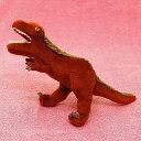 背中に毛が生えているティラノサウルス サイズ:32cm