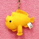 カエルアンコウ携帯ストラップ サイズ:7cm