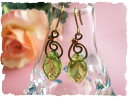 A leaf round and round pierced earrings & earrings [lucky bag] [50% of half price] [tg-w3]