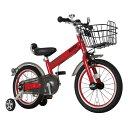 【送料無料】子供 自転車 16 インチ 補助輪 MINI チリ・レッド 子供用自転車
