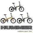 HAMMER ハマー HAMMER FDB207 TANK 自転車 折りたたみ フォールディングバイク 極太タイヤ