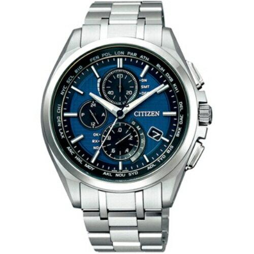 CITIZEN シチズン AT8040-57L ATTESA アテッサ エコ・ドライブ電波時計 ワールドタイム メンズ 【送料無料】CITIZEN(シチズン)  腕時計