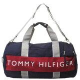 TommyHilfiger[トミーヒルフィガー]【】L500080ダッフルボストンバッグネイビー/レッド