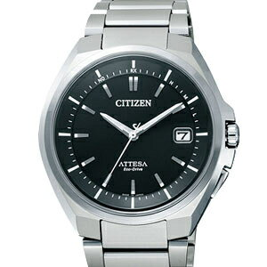 Citizen ATD53-3052 アテッサエコドライブ radio time signal black clockface men