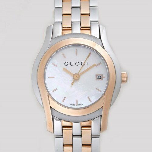 GUCCI グッチ 腕時計 レディース YA055538 G-CLASS ホワイトシェル 【送料無料】GUCCI(グッチ)  腕時計