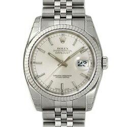 ROLEX Rolex Datejust 116234 new. Silver mens