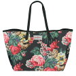 Cath Kidston キャスキッドソン トートバッグ 538329 LEATHER TRIM TOTE LARGE