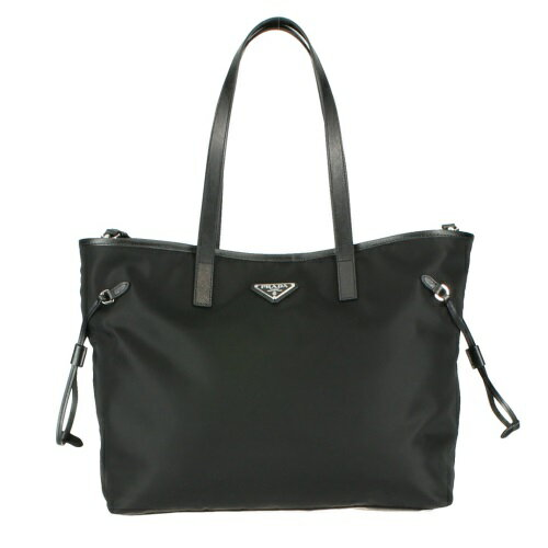 prada black tote bag 1bg401