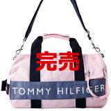 TommyHilfiger[トミーヒルフィガー]【】【即納品】L500079ミニダッフルボストンバッグピンク/ブルー