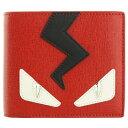FENDI フェンディ 二つ折り財布 7M0169 5WF F082H モンスター