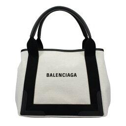 【38時間限定ポイント5倍】BALENCIAGA <strong>バレンシアガ</strong> トートバッグ 339933 AQ38N 1081 NAVY CABAS S