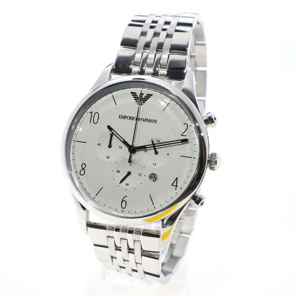 EMPORIO ARMANI エンポリオアルマーニ 腕時計 メンズ AR1879 シルバー 【送料無料】EMPORIO ARMANI(エンポリオ アルマーニ)  腕時計