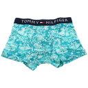 TOMMY HILFIGER トミー ヒルフィガー ボクサーパンツ メンズ 1U87903008 ミントブルー Sサイズ