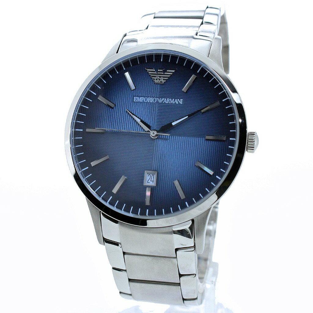 EMPORIO ARMANI エンポリオアルマーニ 腕時計 メンズ AR2472 ネイビー クラシック 【送料無料】EMPORIO ARMANI(エンポリオ アルマーニ)  腕時計