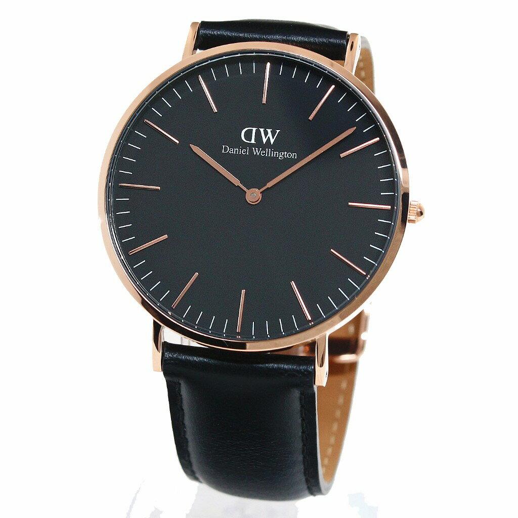 Daniel Wellington ダニエルウェリントン 腕時計 40MM 00100127DW Classic Black SHEFFIELD 【送料無料】Daniel Wellington(ダニエルウェリントン)  腕時計