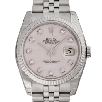 ROLEX Rolex Datejust 116234 new. NG pink sheer men's