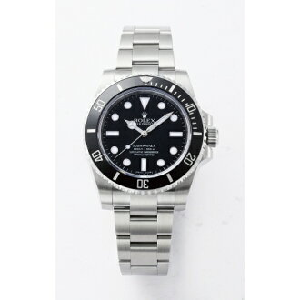 ROLEX Rolex Submariner 114060 black mens
