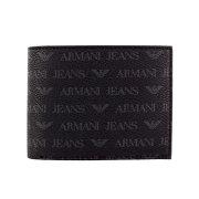 ARMANI JEANS アルマーニジーンズ 二つ折り財布 メンズ ブラック 938538 CC996