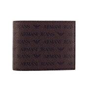 ARMANI JEANS アルマーニジーンズ 二つ折り財布 メンズ ブラウン 938538 CC996