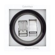 Calvin Klein カルバンクライン ベルト メンズ ブラック/ブラウン 74140