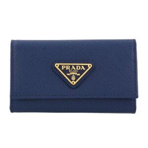 PRADA プラダ キーケース レディース ブルー 1PG222 Q