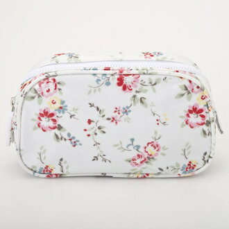 348744 Cath Kidston Cath Kidston Make Bag BLEACHERD FLOWERS WHITE makeup porches which improve