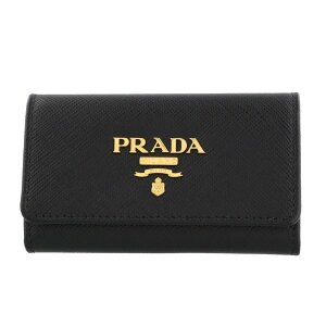 PRADA プラダ キーケース レディース ブラック 1PG004