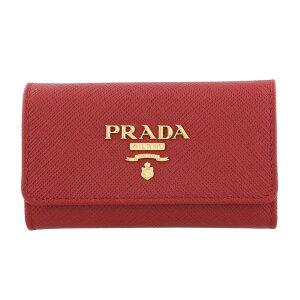 PRADA プラダ キーケース レディース レッド 1PG004 Q