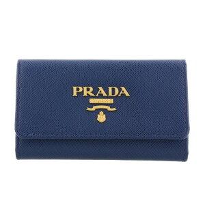 PRADA プラダ キーケース レディース ブルー 1PG004 S