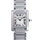 Cartier カルティエ W51008Q3 タンクフランセーズ SM ホワイト レディース