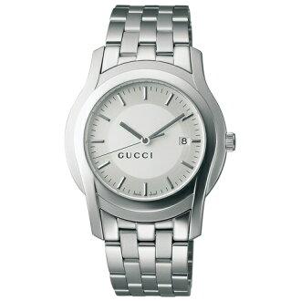 5505 GUCCI gucci YA055212 # silver men