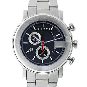 101 GUCCI gucci YA101309 # chronograph black men