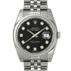 ROLEX Rolex Datejust 116234 G Black mens