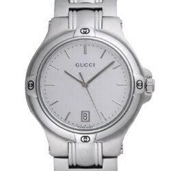 9045 GUCCI gucci YA090318 # silver men