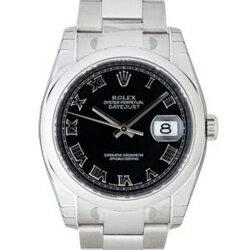 ROLEX Rolex Datejust 116200 black mens