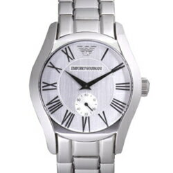 EMPORIO ARMANI AR0647 Small second silver clockface men