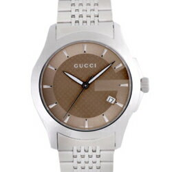 GUCCI Gucci YA126406 # 126 G timeless Brown mens