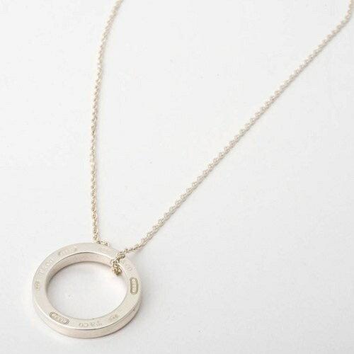 Tiffany&Co. ティファニー 1837 サークル ペンダント ミディアム 25049179