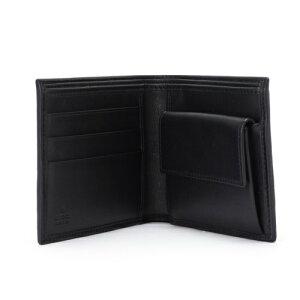 GUCCIグッチ138073AOVBR1060グッチシマ二つ折り財布