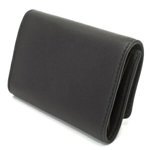 Chloeクロエ財布3P0293889001BLACKLEATHERBOW