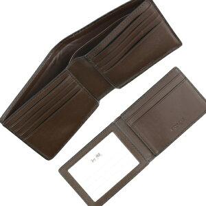 COACHOUTLETコーチメンズ二つ折り財布F74993MA/BRコンパクトIDシグネチャー