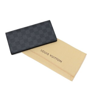 LOUISVUITTONルイヴィトン財布N62665ダミエ・グラフィットポルトフォイユ・ブラザ