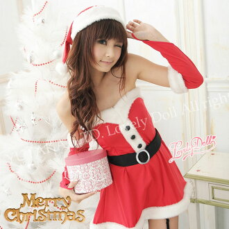 Santa girl dress costume Christmas costumes cosplay adult costume