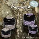 【メール便可】Happiness LUXE (ハピネスリュクス) ノンワイプトップジェル・ 5in1クリアジェル (15g) [ LED UV対応 ]:ジェルネ...