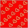 【メール便可】メタルパーツ [ ハート ] 10枚入り ゴールド (4mm×4mm) :ネイル ジェルネイル ネイルアート ネイルパーツ デコ アート用品 激安 メタルスタッズ