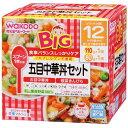 和光堂 BIGサイズの栄養マルシェ 五目中華丼セット「五目中華丼」と「根菜きんぴら」 110g×1パ