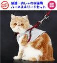 【期間限定お買い得価格1280円さらに送料無料★快適おしゃれな猫用胸当て、ハーネス&