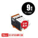 楽天彩天地BCI-9PGBK ブラック 顔料 お得な2個セット メール便 送料無料 キヤノン 用 互換 インク あす楽 対応 (BCI-9 BCI-7E+9/5MP BCI-9BK2P BCI9PGBK PIXUS MP600 BCI 9 PIXUS MP610 PIXUS MP500 PIXUS MP510 PIXUS MP970 PIXUS iP4500 PIXUS iP4300 PIXUS iP4200 PIXUS MP960)