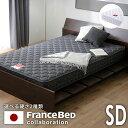 フランスベッド スプリング デュラテクノスプリング マットレス プレミアム